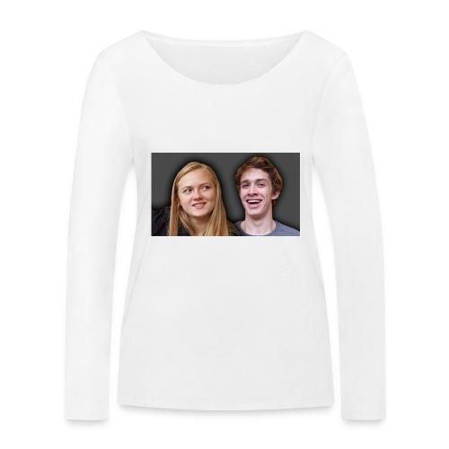 Profil billede beska ret - Økologisk Stanley & Stella langærmet T-shirt til damer