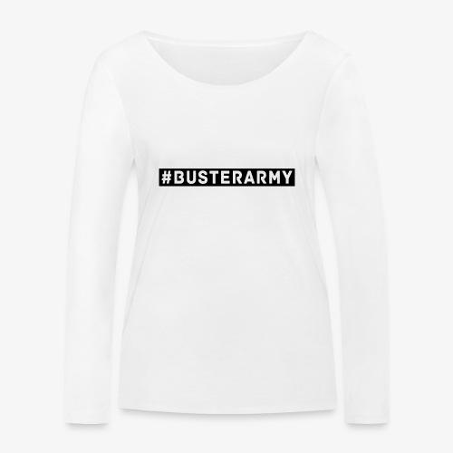 #Busterarmy BLACK - Frauen Bio-Langarmshirt von Stanley & Stella