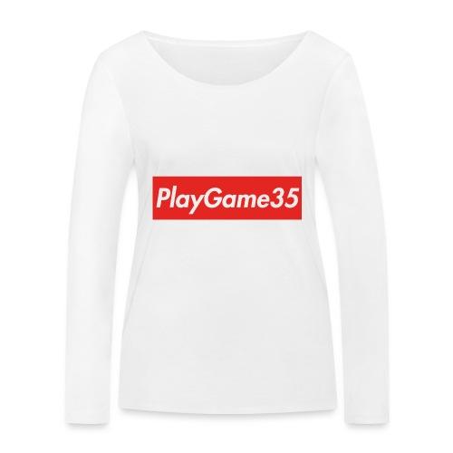 PlayGame35 - Maglietta a manica lunga ecologica da donna di Stanley & Stella