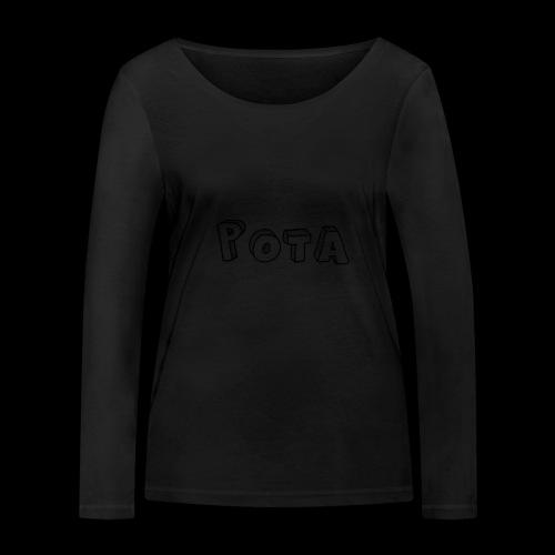 pota1 - Maglietta a manica lunga ecologica da donna di Stanley & Stella