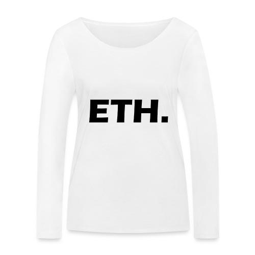 Ethereum - Frauen Bio-Langarmshirt von Stanley & Stella