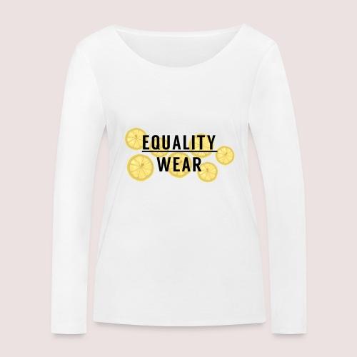 Equality Wear Fresh Lemon Edition - Women's Organic Longsleeve Shirt by Stanley & Stella