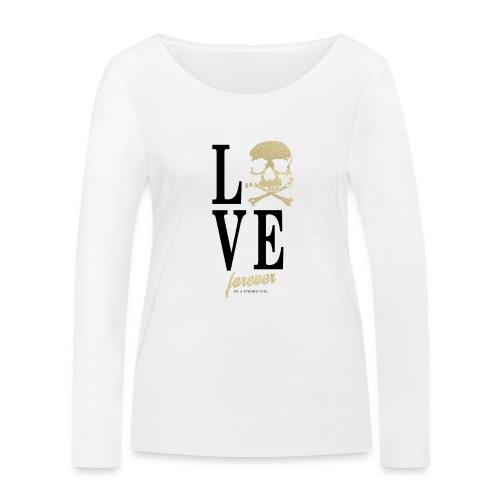 Be a strong Girl Love Skull Fashion - Frauen Bio-Langarmshirt von Stanley & Stella