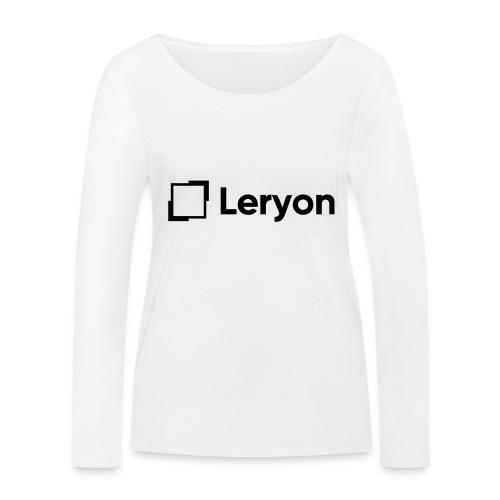 Leryon Text Brand - Women's Organic Longsleeve Shirt by Stanley & Stella