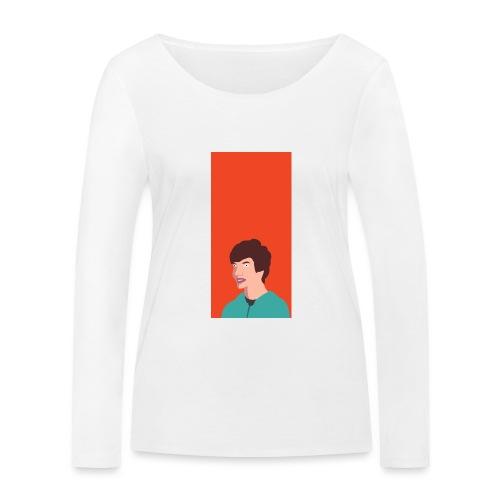 Aron Deksel v.2 6/6S Plus - Økologisk langermet T-skjorte for kvinner fra Stanley & Stella