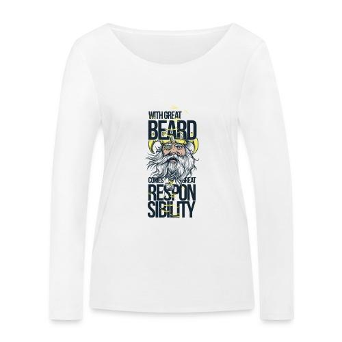 Beard - Ekologisk långärmad T-shirt dam från Stanley & Stella