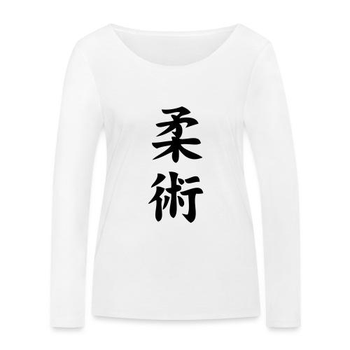 ju jitsu - Ekologiczna koszulka damska z długim rękawem Stanley & Stella
