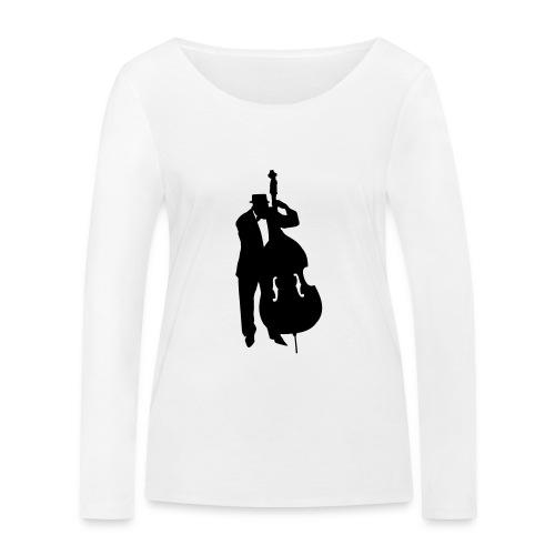 Kontrabass - Frauen Bio-Langarmshirt von Stanley & Stella