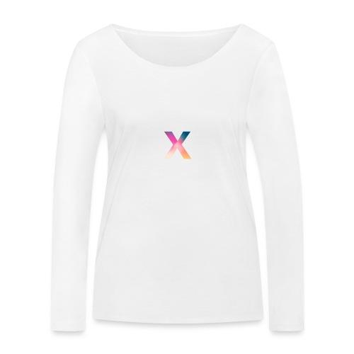 "Xpert ""X"" Logo - Women's Organic Longsleeve Shirt by Stanley & Stella"