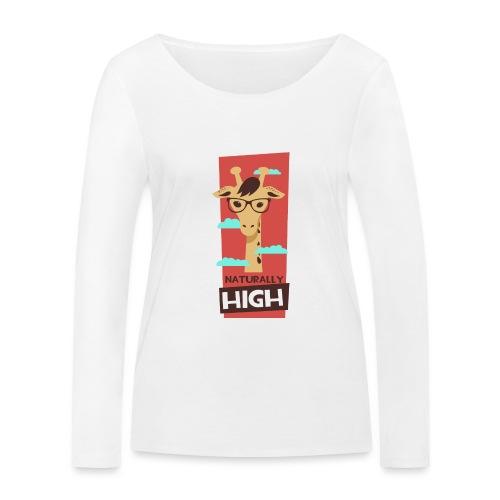 naturally high - Frauen Bio-Langarmshirt von Stanley & Stella