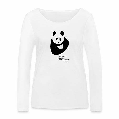 Panda from Uganda - Women's Organic Longsleeve Shirt by Stanley & Stella