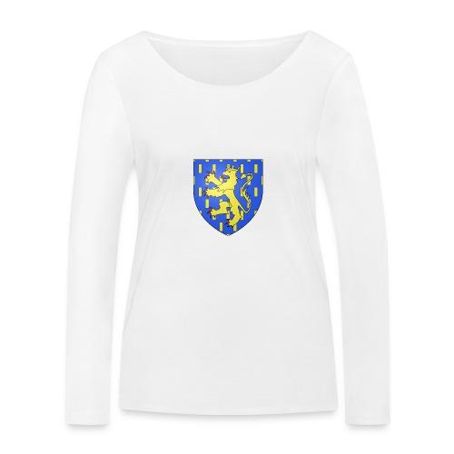Blason de la Franche-Comté avec fond transparent - T-shirt manches longues bio Stanley & Stella Femme