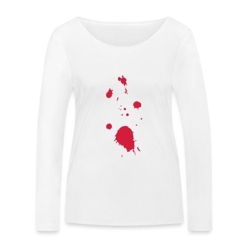 blut - Frauen Bio-Langarmshirt von Stanley & Stella