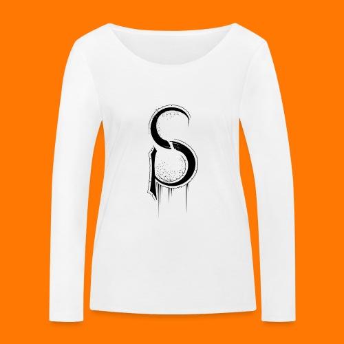ASCP-sign-black transp - Women's Organic Longsleeve Shirt by Stanley & Stella