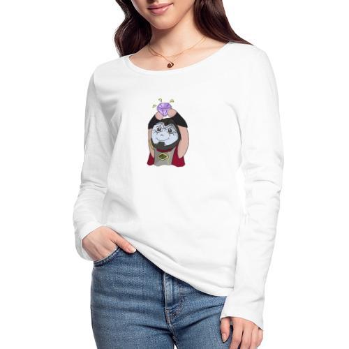 Jhin Diamond - Økologisk Stanley & Stella langærmet T-shirt til damer