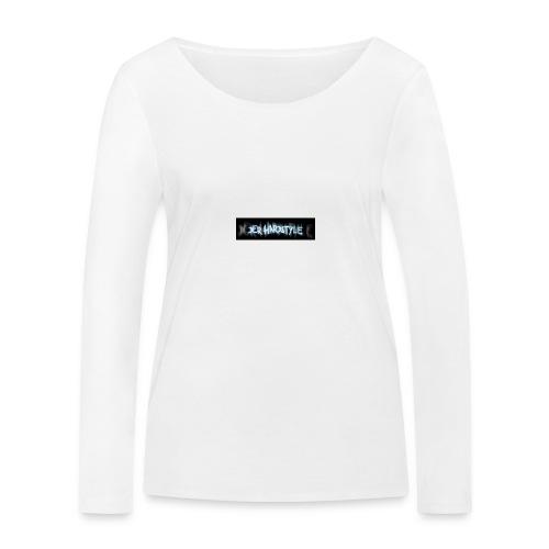 DerHardstyle.ch Kleines Logo - Frauen Bio-Langarmshirt von Stanley & Stella