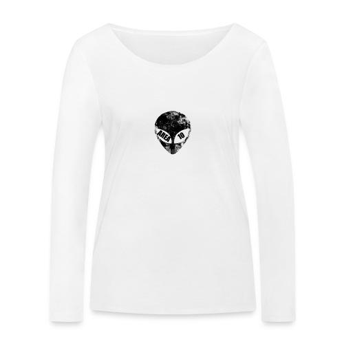 area 10 plain logo male polo top - Women's Organic Longsleeve Shirt by Stanley & Stella