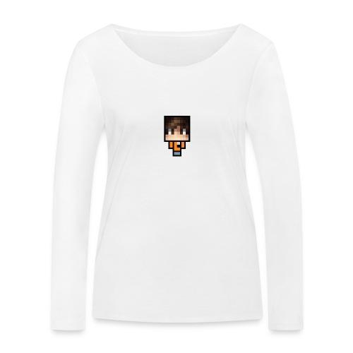 Azhbark Minecraft Fig - Økologisk Stanley & Stella langærmet T-shirt til damer