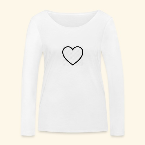 heart 512 - Økologisk Stanley & Stella langærmet T-shirt til damer