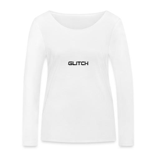 LOGO GLITCH - Maglietta a manica lunga ecologica da donna di Stanley & Stella