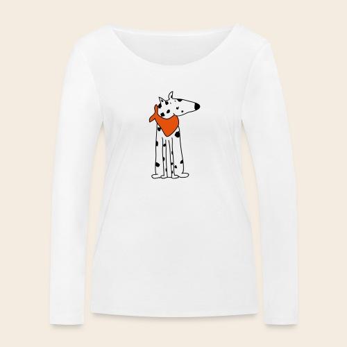 mignon dalmatien - T-shirt manches longues bio Stanley & Stella Femme