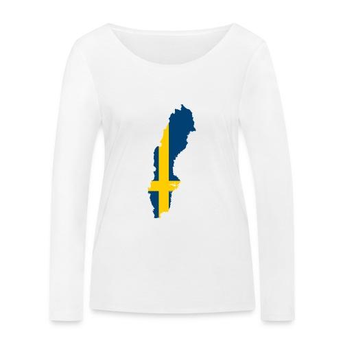 Sweden - Vrouwen bio shirt met lange mouwen van Stanley & Stella