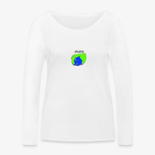 aiga cashier - Økologisk Stanley & Stella langærmet T-shirt til damer