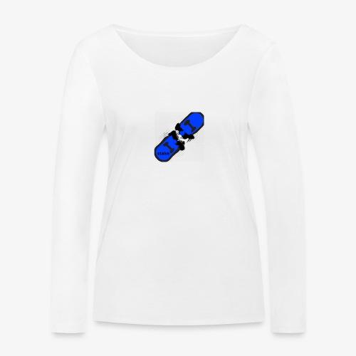skateboard 512 - Økologisk Stanley & Stella langærmet T-shirt til damer