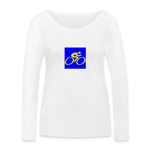 Tour de Epe Logo 2017 2018 2 png - Vrouwen bio shirt met lange mouwen van Stanley & Stella