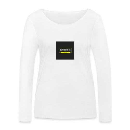 Don kläder - Ekologisk långärmad T-shirt dam från Stanley & Stella