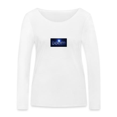 BOOOM - Ekologiczna koszulka damska z długim rękawem Stanley & Stella