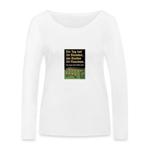 Bauern Sprüche - Frauen Bio-Langarmshirt von Stanley & Stella