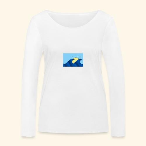 Espoir double wave - Women's Organic Longsleeve Shirt by Stanley & Stella