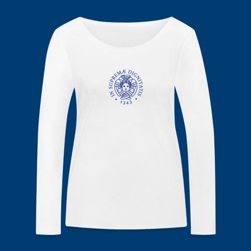 Cherubino UniPisa - Maglietta a manica lunga ecologica da donna di Stanley & Stella