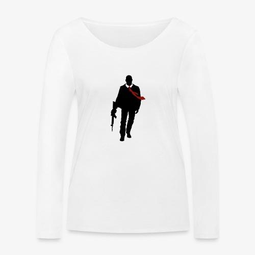 PREMIUM SO GEEEK HERO - MINIMALIST DESIGN - T-shirt manches longues bio Stanley & Stella Femme