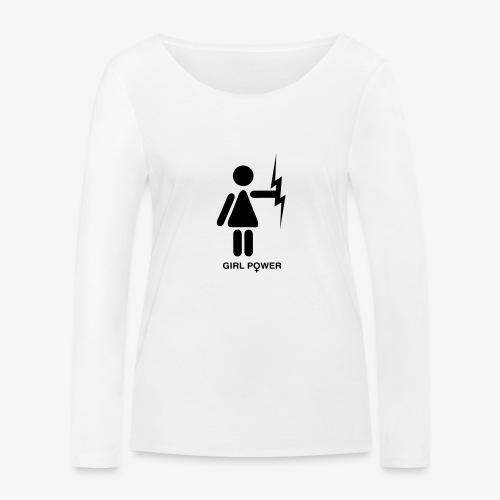 GP - Ekologiczna koszulka damska z długim rękawem Stanley & Stella