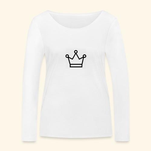 The Queen - Økologisk Stanley & Stella langærmet T-shirt til damer