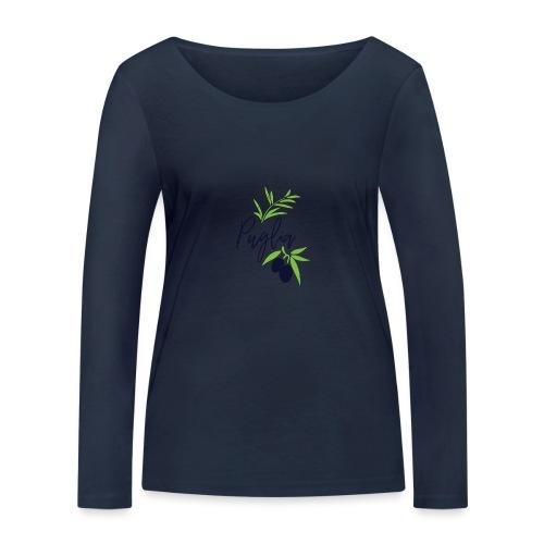 Puglia - Maglietta a manica lunga ecologica da donna di Stanley & Stella