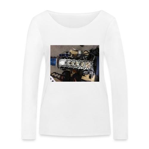 Motor tröja - Ekologisk långärmad T-shirt dam från Stanley & Stella