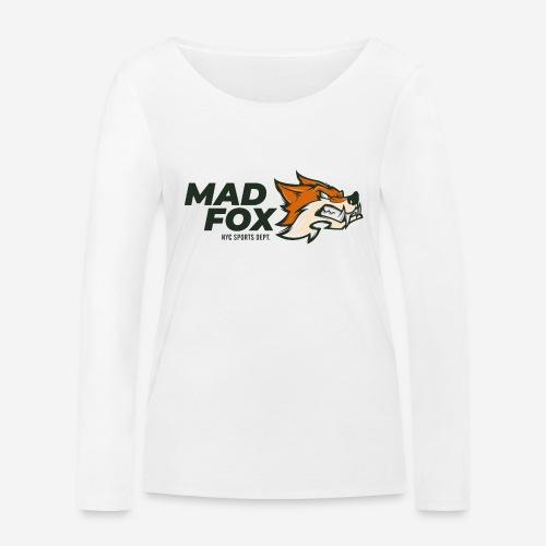 mad crazy fox - Frauen Bio-Langarmshirt von Stanley & Stella