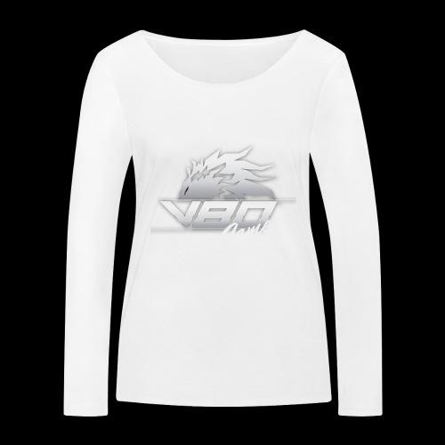 logo lionheartv80 chiaro trasparente - Maglietta a manica lunga ecologica da donna di Stanley & Stella
