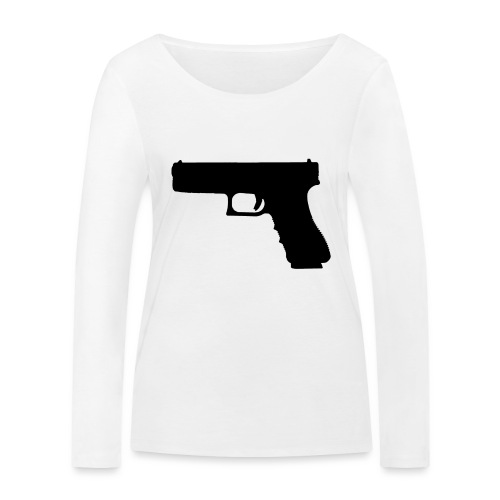 The Glock 2.0 - Women's Organic Longsleeve Shirt by Stanley & Stella