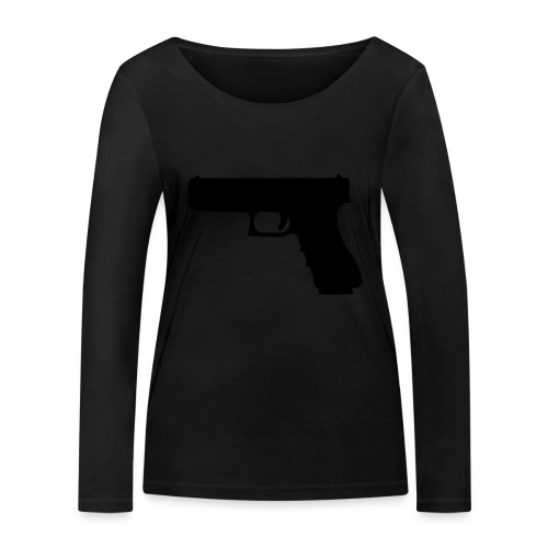 The Glock 2.0 - Women's Organic Longsleeve Shirt by Stanley & Stella