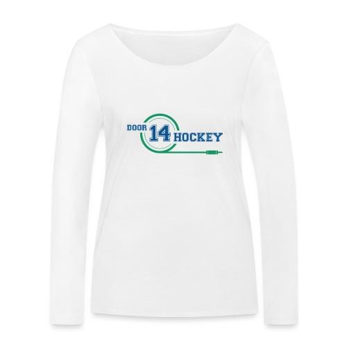 D14 HOCKEY LOGO - Women's Organic Longsleeve Shirt by Stanley & Stella