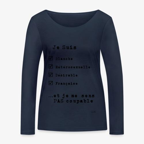 IDENTITAS Femme - T-shirt manches longues bio Stanley & Stella Femme