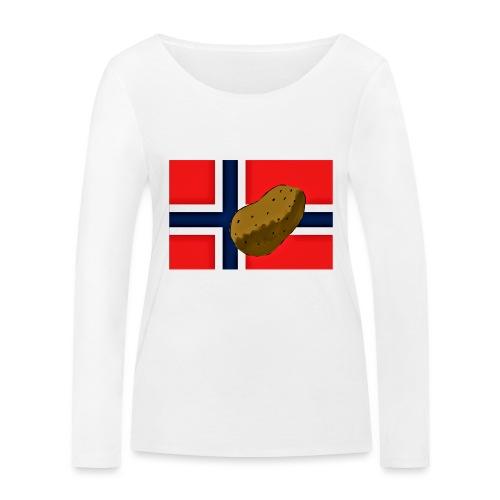 NorPot - Økologisk langermet T-skjorte for kvinner fra Stanley & Stella