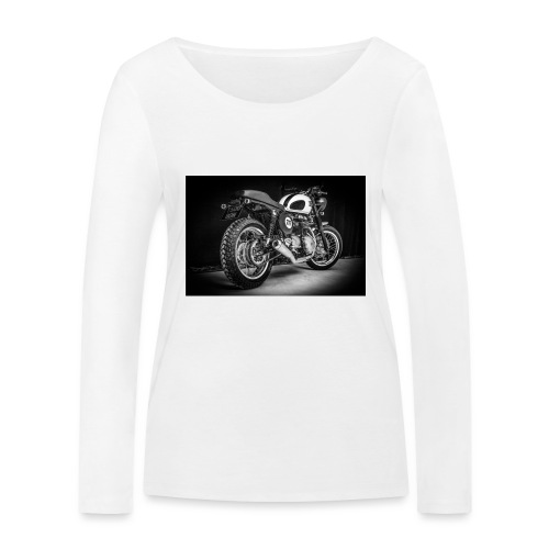 Monia's Thruxton 'Performance Scrambler' - Women's Organic Longsleeve Shirt by Stanley & Stella