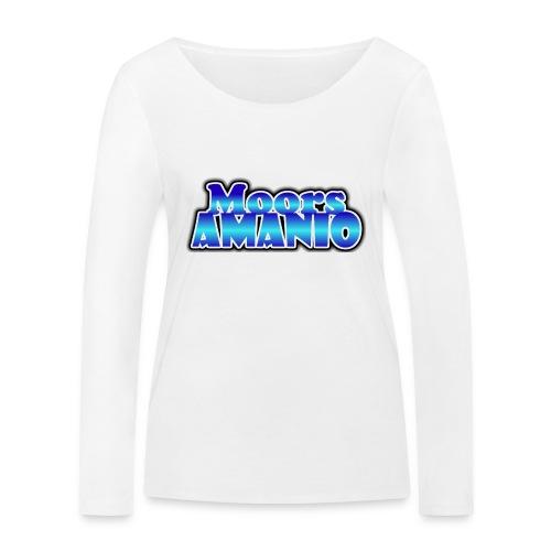 MoorsAmanioLogo - Vrouwen bio shirt met lange mouwen van Stanley & Stella