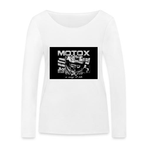 Motox a way of life - Vrouwen bio shirt met lange mouwen van Stanley & Stella