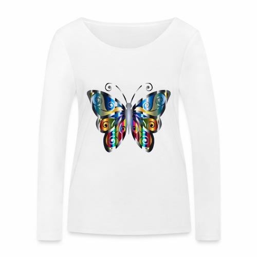 butterfly - Ekologiczna koszulka damska z długim rękawem Stanley & Stella